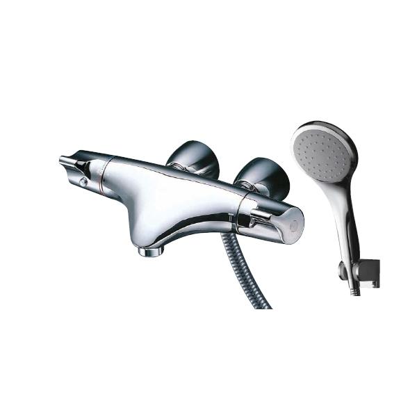 サーモスタットシャワー金具(壁付きタイプ) 洗い場専用 TMNW40JC1RZ めっき/寒冷地用