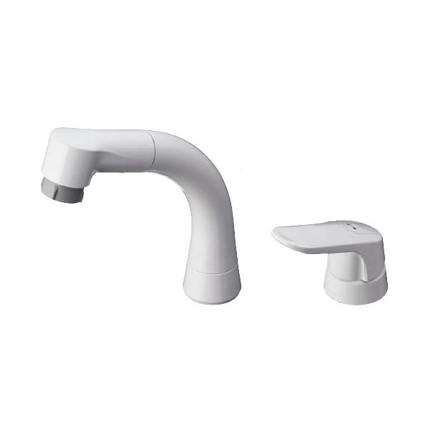シャンプー水栓 シングルレバー混合栓(エコシングル) TL362E1RZ 寒冷地用