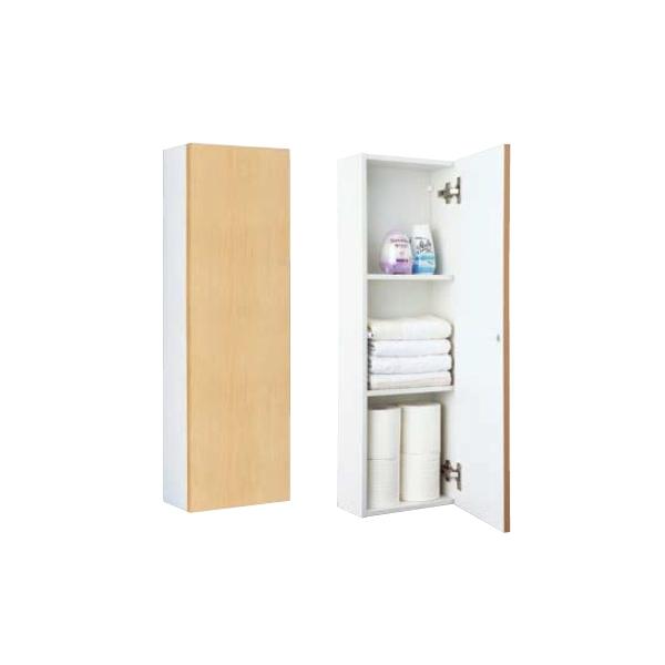 トイレ収納棚 コーナーミドルキャビネット(ワイド) TSF-103WU/LL