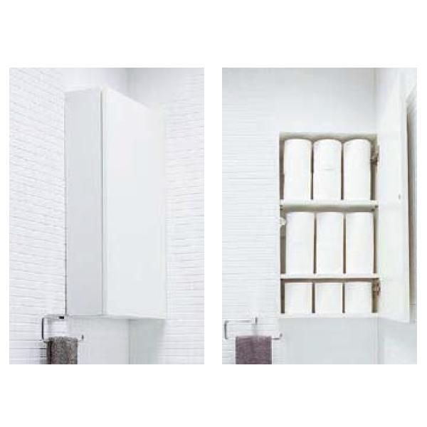 トイレ収納棚 サイドミドルキャビネット TSF-106U/LP