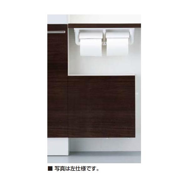トイレ収納棚 カラクリキャビネット 左仕様 TSF-304L/WA