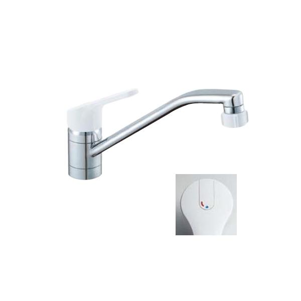 ワンホールタイプ キッチンシャワー シングルレバー ノルマーレ SF-HE442SYX