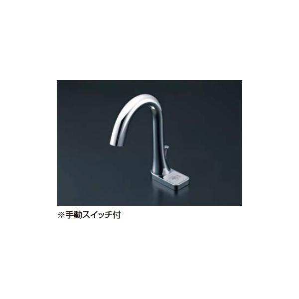 LIXIL 1年保証 自動水栓 洗面器 手洗器用自動水栓 スーパーセール期間限定 オートマージュ AM-211V1 グースネックタイプ スイッチ付