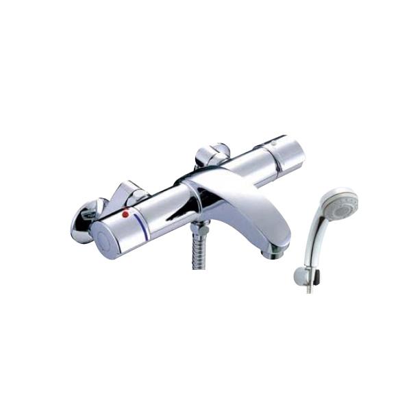 LIXIL 即納 サーモシャワーバス水栓 購買 シャワーバス水栓 洗い場専用サーモスタット BF-A147TSCW アウゼ エコフルスイッチ多機能シャワー