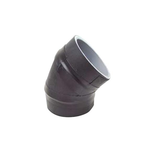 【日東エルマテリアル】デービーカバー 45L(継手付)A45EL/ケース 排水管防音材 デービーカバー 45゜エルボ(継手付)A45EL 10個入り DB-A45EL100(10個入)