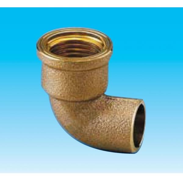 因幡電機産業 給水栓用エルボ銅管接合部基準径 めす :22.22 ねじの呼び:Rp1 2 訳あり コードNo.:80294 50個入 毎日続々入荷 WE2222-1 給水栓用エルボ 銅管接合部基準径