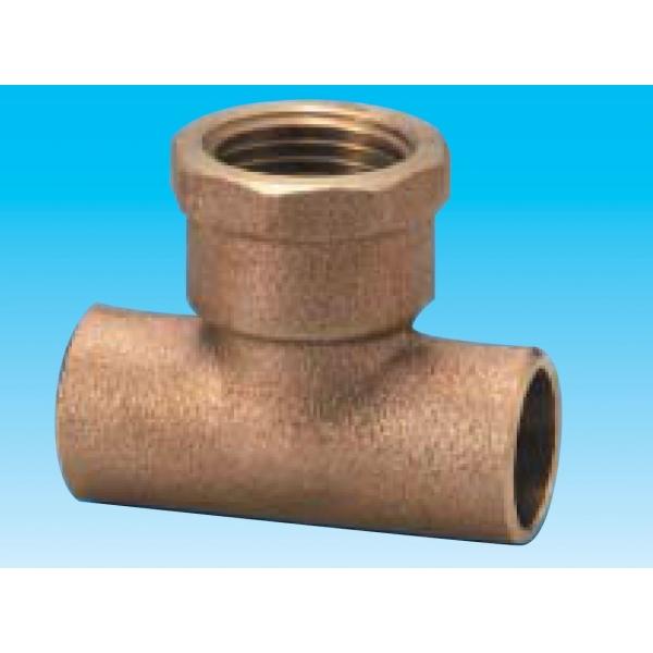 有名ブランド 銅管接合部基準径(めす):22.22、X(mm):64:ダンドリープロ店 WT2222-3/4(25個入) 給水栓用チーズ-木材・建築資材・設備