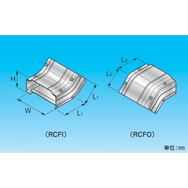 安いそれに目立つ 立面45°曲り RCF-450H-C-SUS 材質:ステンレス、幅(W):450、高さ(H):251、L1(mm):197、L2(mm):197 コードNo.:86922, 月夜野町 35812bff