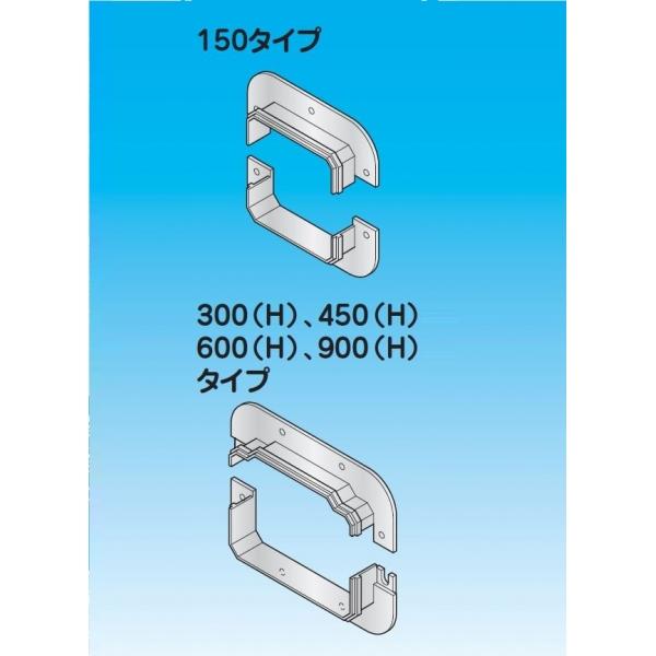 壁貫通部化粧プレート RWP-600H-SUS 材質:ステンレス、A(mm):714、E(mm):362