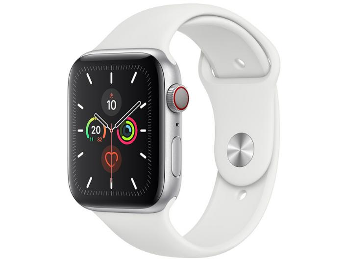 【5%還元対象】[新品] Apple Watch Series 5 GPS+Cellularモデル 44mm MWWC2J/A [ホワイトスポーツバンド] アップルウォッチ