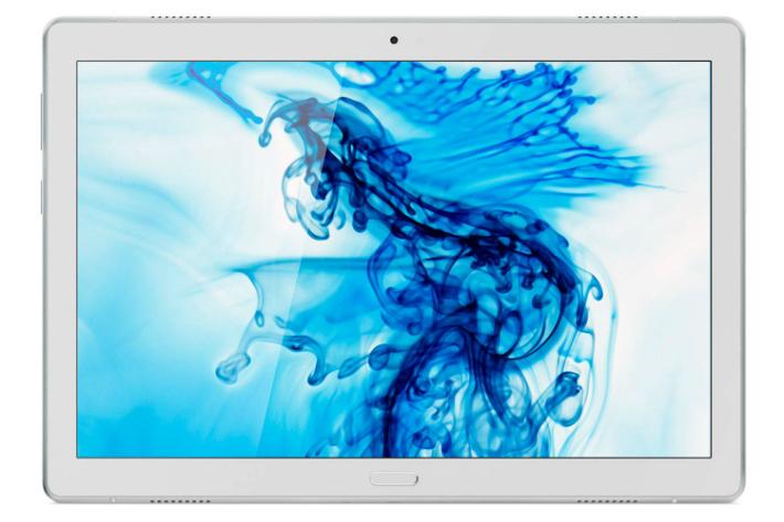 【5%還元対象】[新品] Lenovo レノボ Tab P10 WiFiモデル 10.1型 4GB 64GB スパークリングホワイト ZA440092JP 4589701998121 タブレットPC