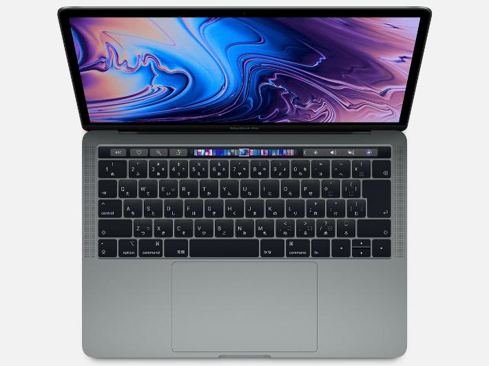 【5%還元対象】[新品] Apple アップル MacBook Pro Retinaディスプレイ 2400/13.3 MV972J/A [スペースグレイ] 4549995072204