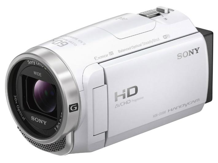 【5%還元対象】[新品] SONY ビデオカメラ HDR-CX680 (W) [ホワイト] 4548736055612