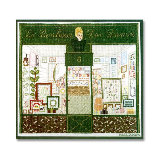 La Bonhour Des Dames社 フランス des の輸入クロスステッチキット 通信販売 Bonheur danes 格安SALEスタート Le