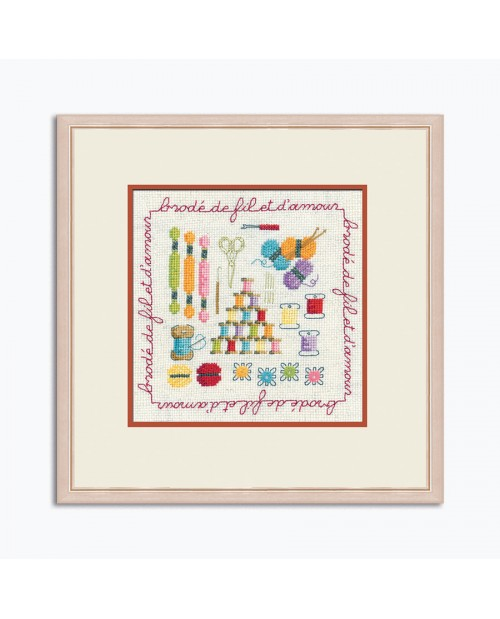 La Bonhour Des Dames社 店内限界値引き中 セルフラッピング無料 フランス 半額 の輸入クロスステッチキット 糸コレクション