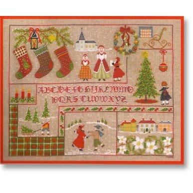クロスステッチ 刺繍キット 【ノエル】クリスマス フランス 輸入ししゅうキット