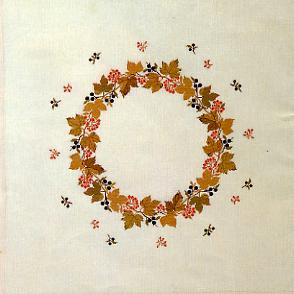 Guelder rose/blackthorn のテーブルクロス