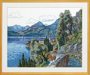 Eva Rosenstand社 デンマーク の輸入クロスステッチキット 風景画 上質 夏 半額