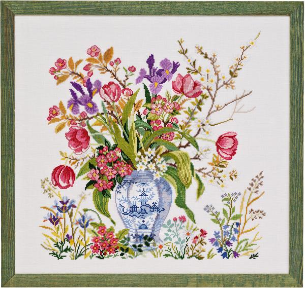 エヴァ ローゼンスタンド(EVA )クロスステッチ 刺繍(刺しゅう)キット Tulips 花 新作 中級者 上級者向き