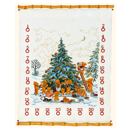 くまちゃんたちのクリスマス