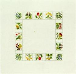 フレメ クロスステッチ 刺繍キット 【FRUITS AND BERRIES 】花と樹木 デンマーク 輸入ししゅうキット