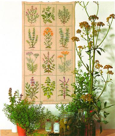 フレメ クロスステッチ 刺繍キット 【ハーブ】 野の花 デンマーク 輸入ししゅうキット