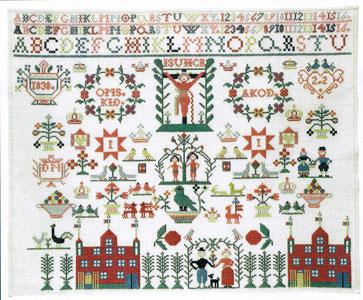 フレメ クロスステッチ 刺繍キット 【GARDEN OF EDEN】 デンマークの世界 デンマーク 輸入ししゅうキット