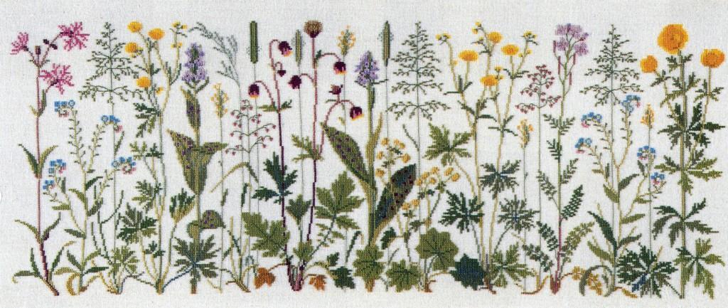 フレメ クロスステッチ 刺繍キット 【FLOWERS OF THE MEADOW】 野の花 デンマーク 輸入ししゅうキット