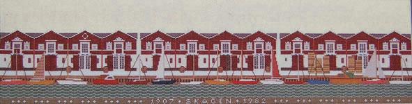 フレメ クロスステッチ 刺繍キット 【運河(スケーエン)】 デンマークの世界 デンマーク 輸入ししゅうキット