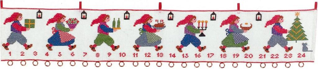 フレメ クロスステッチ 刺繍キット 【クリスマスパーティー 】 クリスマス デンマーク 輸入ししゅうキット