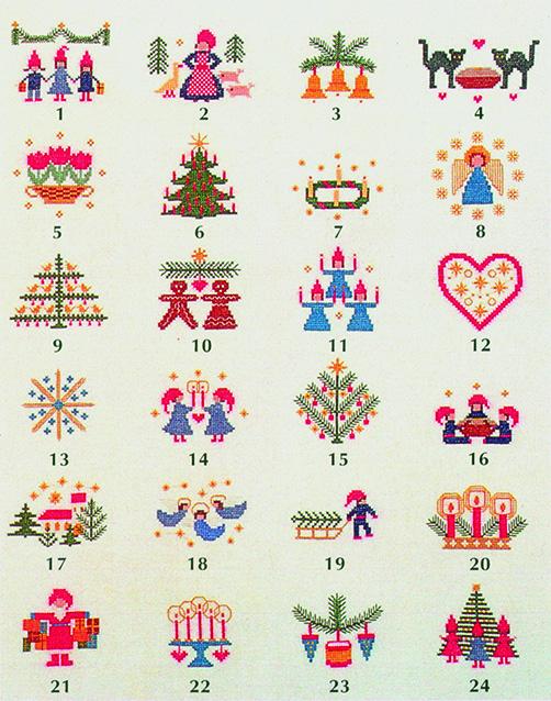 フレメ クロスステッチ 刺繍キット 【アドベントクリスマスモチーフ 】 クリスマス デンマーク 輸入ししゅうキット