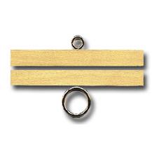 Permin社 デンマーク の輸入ベルプルハンガー ベルプル用ハンガー サイズ 内寸 サテン 送料0円 AL完売しました 仕上げ 上下で1セット 光沢 外寸は約11.8cm 10cm