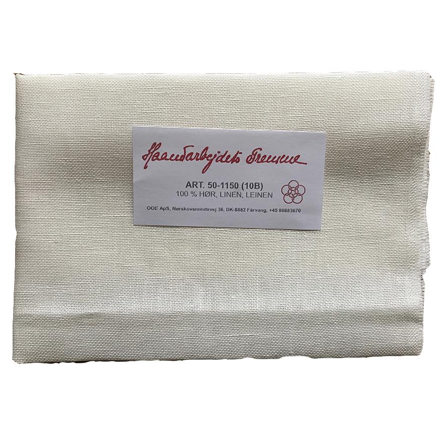 買い取り Haandarbejdets Fremme フレメ の輸入刺繍用生地 150cm幅 売店 cm リネン10th