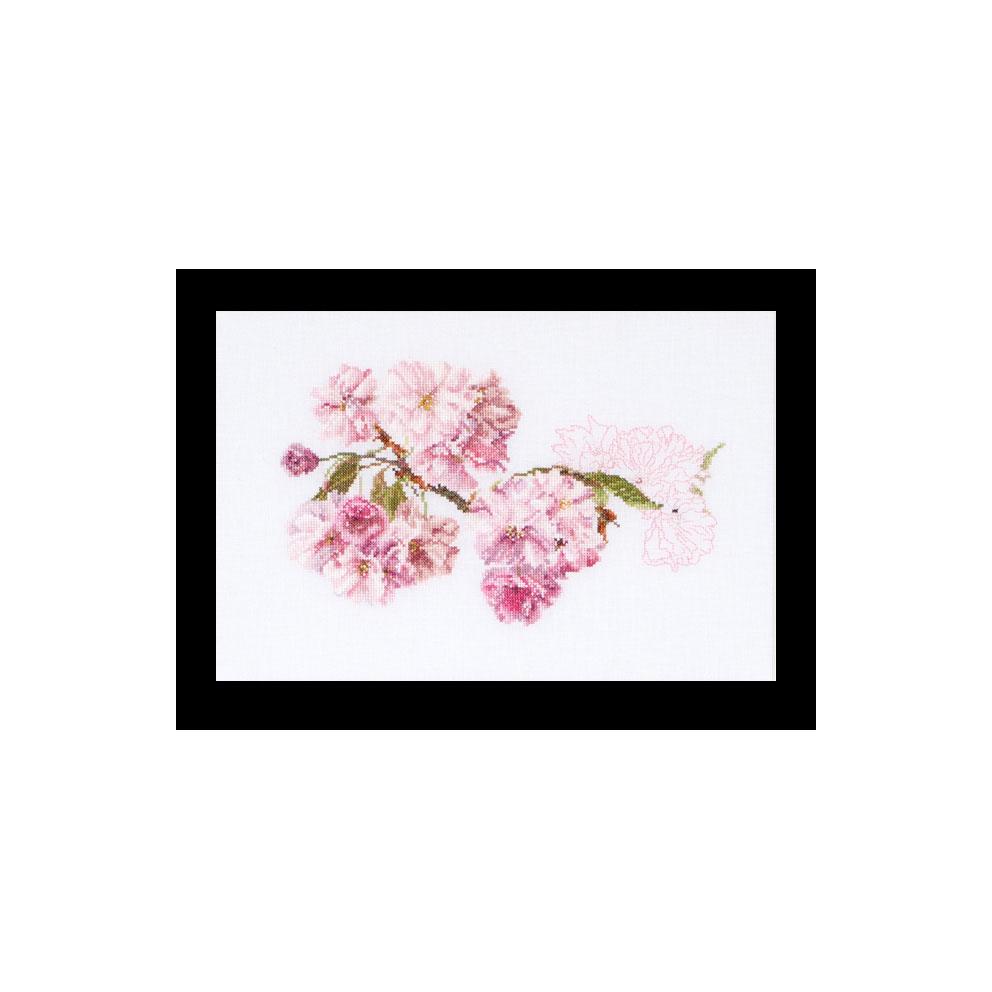 テア グーベルヌール クロスステッチ刺繍キット 【Blossom 】中級者ー上級者向き ☆お取り寄せキット(納期は30-90日程度)