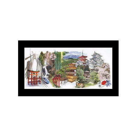 テア グーベルヌール クロスステッチ刺繍キット 【Japan】中級者ー上級者向き ☆お取り寄せキット(納期は30-90日程度)