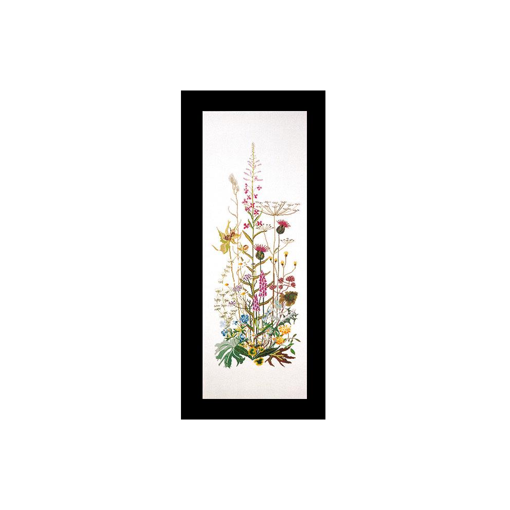 テア グーベルヌール クロスステッチ刺繍キット 【Wild Flowers】中級者ー上級者向き ☆お取り寄せキット(納期は30-90日程度)