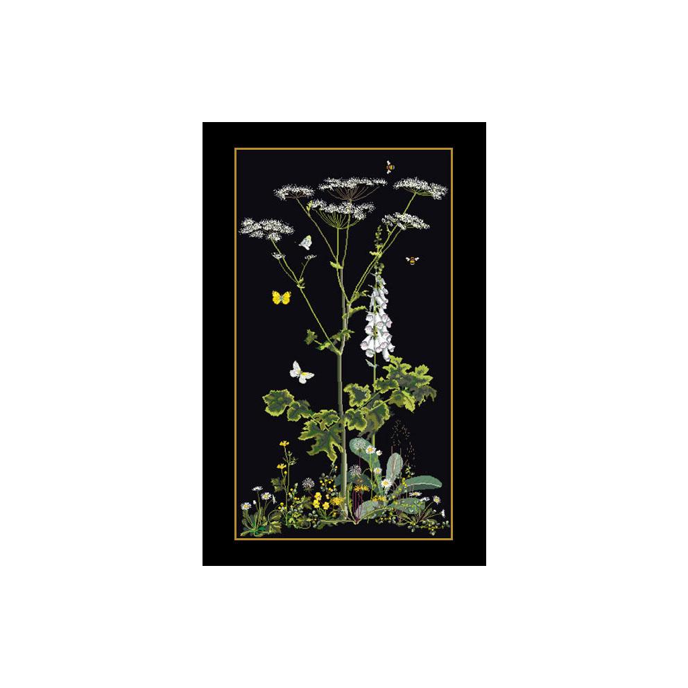 テア グーベルヌール クロスステッチ刺繍キット 【Peace Rose】中級者ー上級者向き ☆お取り寄せキット(納期は30-90日程度)