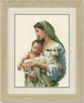 おすすめ特集 Vervaco社 ベルギー の輸入クロスステッチキット of 在庫処分 Innocence Mother