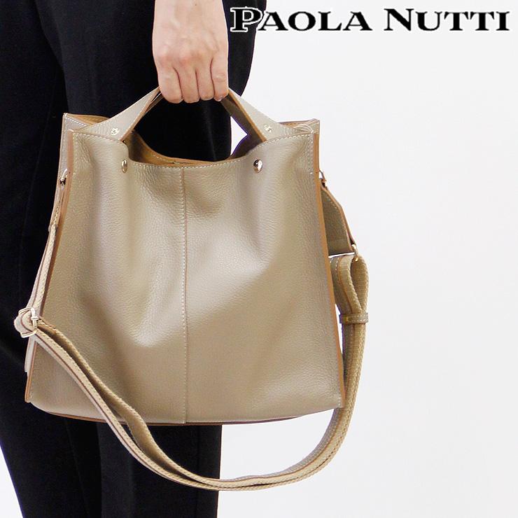 246fabbcc8633 レザーバッグ 斜めがけバッグ 女性用 italy 鞄 bag カバン 皮 資料 書類 パオラヌッティ PAOLA