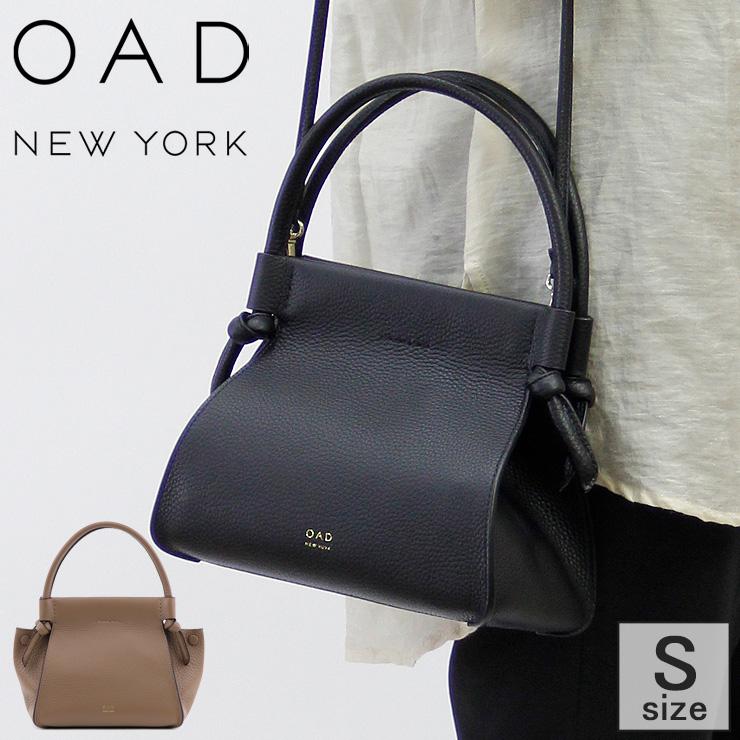Bag 2way york satchel new オーエーディーニューヨーク knot ブラック 【クーポン対象】oad 本革 茶 レディース 結び目 トートバッグ ブラウン ノットデザイン Isla oad194 黒 バッグ Mini