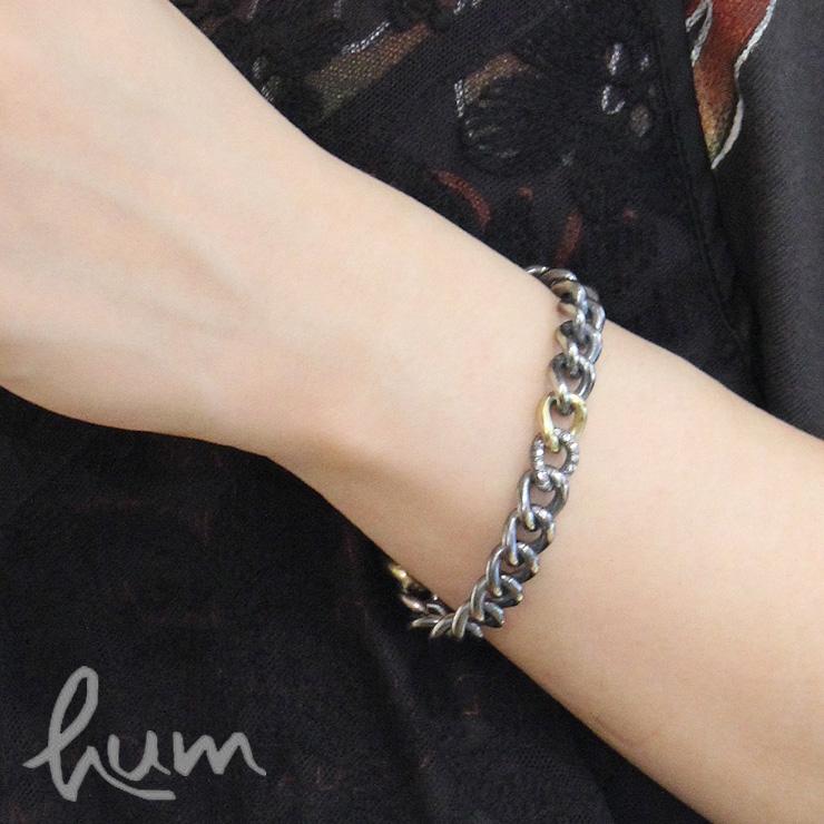 hum チェーン ブレスレット humete Chain レディース アクセサリー ダイヤモンド シルバー950 SV ゴールド K18GG YG アクセサリー オンライン 公式 通販 et-br64s ハム