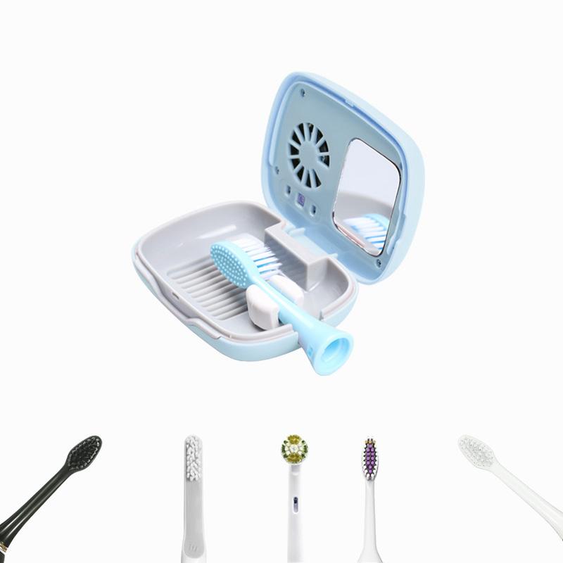 圧倒的な除菌率99.9%の紫外線照射歯ブラシ除菌器~ オーラクリーンミニ 圧倒的な除菌率99.9%の紫外線照射歯ブラシ除菌器 ファン付きで歯ブラシを乾燥させるより菌の増殖を抑えます 日本限定 約2時間の満充電で約40回使用可能 奉呈 フック部分は外す事もでき電動歯ブラシも使用可能 携帯便利で小旅行にも便利