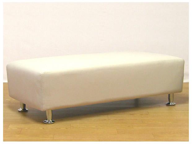 PVCレザー張り8色対応スツール幅120×奥41cm×高さ37cm【smtb-k】【関東まで送料無料】【代引き不可商品】