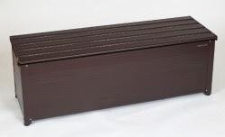 グリーンライフ アルミベンチストッカー  幅144cmタイプ         収納庫 収納ストッカー GREENLIFE アルミストッカー ベンチ チェア 屋外収納 アルミ収納庫 南京錠用金具