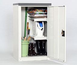 TBJ-102HT 扉式家庭用収納庫    収納 物置 整理 整頓 保管庫