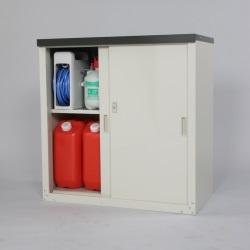 家庭用収納庫 HS-92   収納 物置 収納庫 引き戸