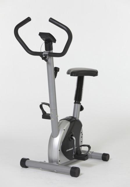 軽量コンパクトエアロバイク     運動 エクササイズバイク エクササイズマシーン 自転車 ペダル ダイエット 負荷ダイヤル ベルト式 健康 フィットネスバイク サイクル サイクリング 健康器具 運動器具 メーター付き
