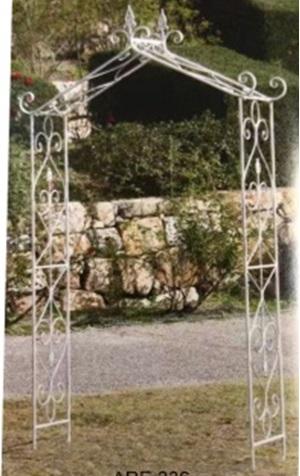 ガーデンアーチ トライアングル    ガーデニング 庭づくり ハンギング アプローチ スチール