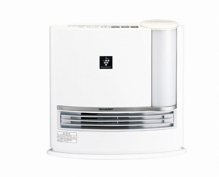 シャープ 加湿セラミックファンヒーター HX-J120   プラズマクラスター 加湿器 暖房 ストーブ