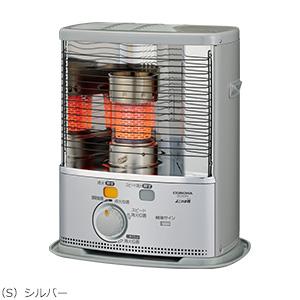 コロナ 反射型石油ストーブ SX-2419Y(S) シルバー   暖房器具 石油暖房 ヒーター CORONA